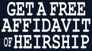 Free Affidavit Of Heirship  Free Affidavit