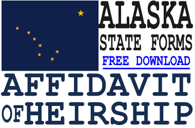 Alaska Affidavit of Heirship Form