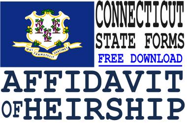 Connecticut Affidavit of Heirship Form