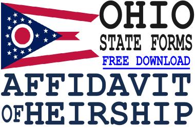 Ohio Affidavit of Heirship Form