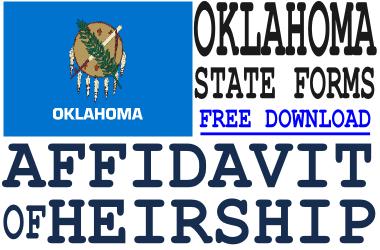 Oklahoma Affidavit of Heirship Form