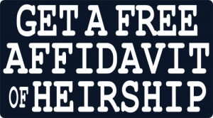 Free Affidavit of Heirship