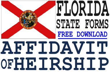 Florida Affidavit of Heirship Form