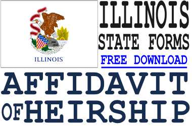 Illinois Affidavit of Heirship Form