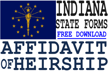 Indiana Affidavit of Heirship Form
