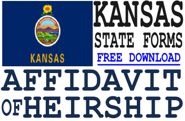 Kansas Affidavit of Heirship Form