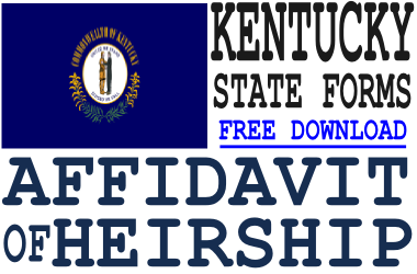 Kentucky Affidavit of Heirship Form