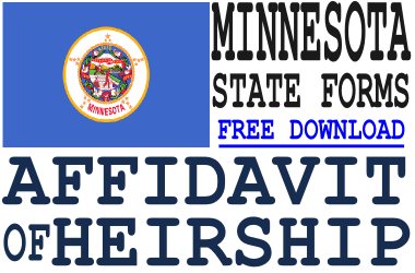 Minnesota Affidavit of Heirship Form