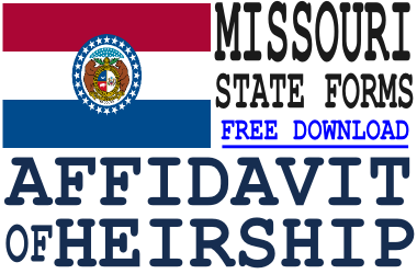 Missouri Affidavit of Heirship Form