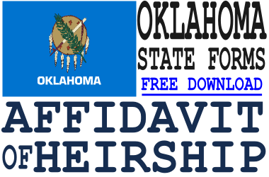 Oklahoma Affidavit of Heirship Form
